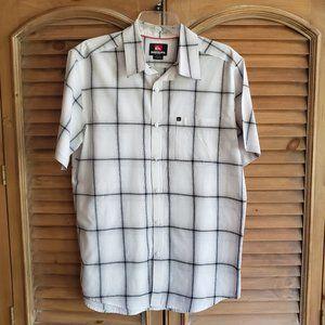 Quicksilver Button-Up Shirt M